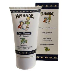 L' Amande Body Cream Ενυδατική & Αναπλαστική Κρέμα Σώματος Με Πολυβιταμίνες & Ελαιόλαδο 150ml