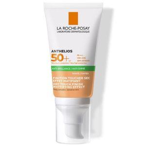 La Roche Posay Anthelios Xl Anti-Brillance Tinted Spf50+ Αντιηλιακή Gel Κρέμα Προσώπου Με Χρώμα Για Ματ Αποτέλεσμα 50ml