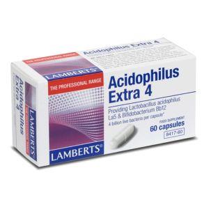 Lamberts Acidophilus Extra 4 Υγεία Γαστρεντερικού 60 Caps