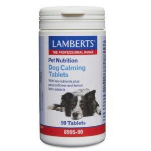 Lamberts Pet Nutrition Dog Calming Συμπληρωματική Ζωοτροφή Για Σκύλους 90Tabs