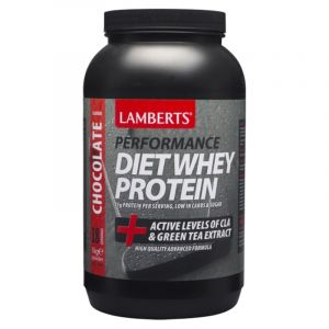 Lamberts Συμπλήρωμα Διατροφής Performance Whey Protein & Magnesium Σοκολάτα 7003 1000Gr