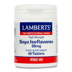 Lamberts Συμπλήρωμα Διατροφής Soya Isoflavones 50Mg Hifh Strength 8562-60 60Tabs