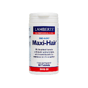 Lamberts Maxi-Ηαιr Συμπλήρωμα Διατροφής Για Τα Μαλλιά 8446-60 60Tabs