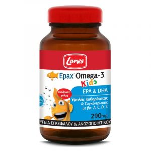 Lanes Omega 3 290Mg Kids 60Tabs