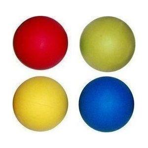 Λαστιχένιο Μπαλάκι Σκύλου Σε 4 Χρώματα 60mm