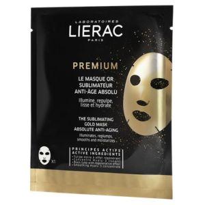 Lierac Premium Η Χρυσή Μάσκα Απόλυτης Αντιγήρανσης για Λάμψη, Αναζωογόνηση & Ενυδάτωση 20ml