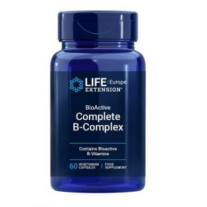 Life Extension Complete B-Complex Συμπλήρωμα Διατροφής Με Σύμπλεγμα Βιταμινών Β Για Την Ομαλή Λειτουργία Του Μεταβολισμού 60 Caps