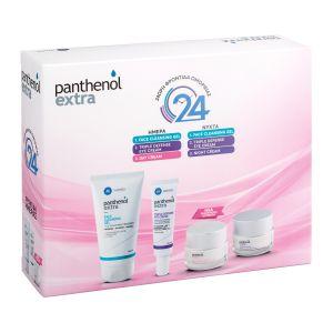 Medisei Panthenol Extra Πακέτο Περιποίησης Προσώπου Ημέρας & Νύχτας 4Τμχ