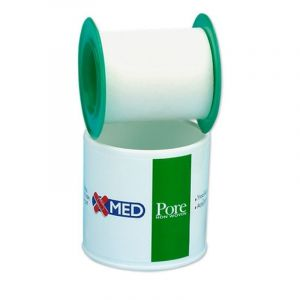 Medisei X-Med Roll Pore Αυτοκόλλητη Επιδεσμική Ταινία 5cm x 5cm