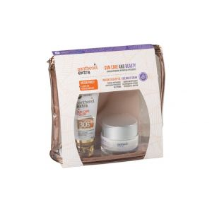Medisei – Promo Panthenol Extra Suncare Color Αντηλιακό Προσώπου με Χρώμα SPF30 50ml & Αντιρυτιδική Κρέμα Προσώπου και Ματιών 50ml & Δώρο Νεσεσέρ