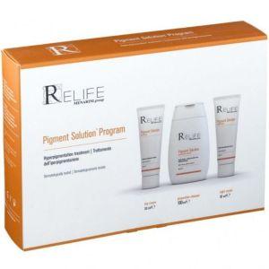 Menarini Πακέτο Promo Set ReLife Pigment Solution Program Σετ Κρέμα Ημέρας 30ml, Νυκτός 30ml & Καθαριστικό Προσώπου Για Τη Θεραπεία Της Υπέρχρωσης 100ml