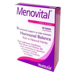 Health Aid Menovital  Φόρμουλα Πολυβιταμίνης για την Εμμηνόπαυση 60 Ταμπλέτες