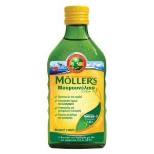 Mollers Μουρουνελαιο Natural Παραδοσιακό Σε Υγρή Μορφή Με Την Κλασσική Γεύση 250ml | Dpharmacy.gr