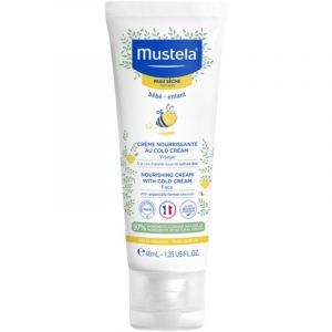 Mustela Κρέμα Ενυδάτωσης Προσώπου Για Ξηρό Δέρμα Με Cold Cream 40ml