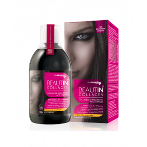My Elements Beautin Collagen Συμπλήρωμα Διατροφής με Κολλαγόνο & Υαλουργικό Οξύ Μάνγκο - Πεπόνι 500ml
