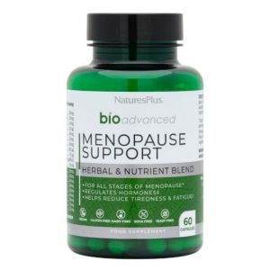 Natures Plus Bio Advanced Menopause Support Συμπλήρωμα Διατροφής Με Βιταμίνες & Μέταλλα Για την Εμμηνόπαυση 60 Caps