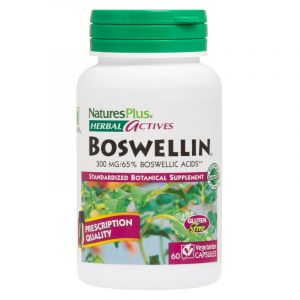 Natures Plus Herbal Actives Boswellin 300 mg 60 Φυτικές Κάψουλες