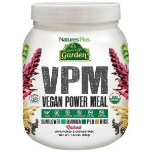 Natures Plus Garden VPM Naked Σκεύασμα Βιολογικής Vegan Πρωτεΐνης 645g