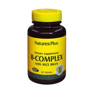 Nature Plus Vitamin B Complex-Rice Bran 90 Tαμπλέτες