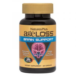 Natures Plus Ageloss Brain Support 60 caps
