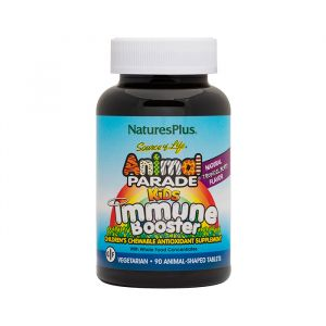 Nature's Plus Animal Parade Kids Immune Booster Συμπλήρωμα Διατροφής 90 tabs