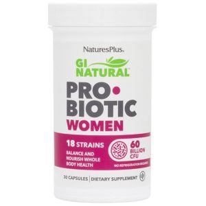 Natures Plus Gi Natural Probiotic Women Προβιοτικά Για Γυναίκες 30caps