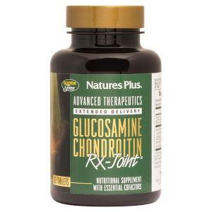 Nature's Plus Glucosamine Chondroitin Rx Joint Συμπλήρωμα Διατροφής Για Τις Αρθρώσεις 60 Ταμπλέτες