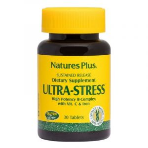 Natures Plus Ultra Stress Φόρμουλα Βαθμιαίας Αποδέσμευσης Κατά Του Στρες 30 tabs