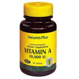 Natures Plus Vitamin A 10.000IU Βιταμίνη Α 90tabs