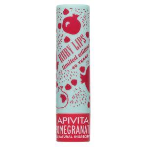 Apivita Lip Care Ρόδι Limited Edition 4.4Gr