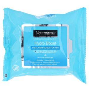 Neutrogena Hydro Boost Μαντηλάκια Καθαρισμού 25τμχ