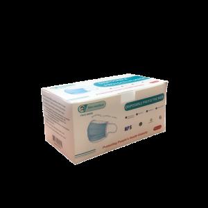 Μάσκες Προστασίας Μιας Χρήσης Non Medical Disposable 3-Layer CE Πιστοποίηση & Ειδικό Έλασμα 50 τμχ