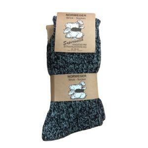 Norweger Thermal Unisex Κάλτσες Γκρι-Ανθρακί 2048 2 Ζευγάρια