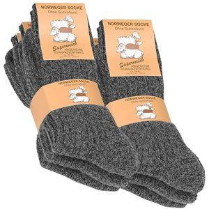 Norweger Thermal Unisex Κάλτσες Ανθρακί 2016 3 Ζευγάρια
