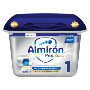Nutricia Almiron Profutura No1 Γάλα 1ης Βρεφικής Ηλικίας Aπό 0-6 Mηνών 800g