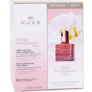 Nuxe Πακέτο Promo Set Creme Prodigieuse Boost Gel Cream Σετ Κρέμα Gel Πολλαπλής Δράσης 40ml & Δώρο Nuxe Huile Prodigieuse Floral Ξηρό Λάδι 10ml