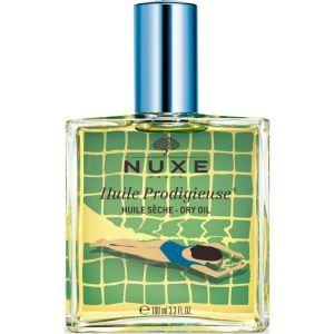 Nuxe Huile Prodigieuse Multi-Purpose Dry Oil Limited Edition Blue 100ml  | Ξηρό Λάδι Για Πρόσωπο-Σώμα-Μαλλιά