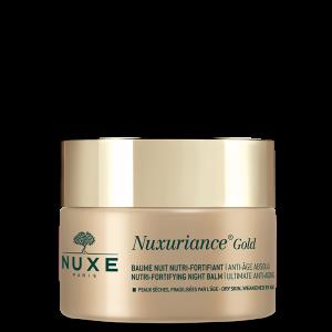 Nuxe Nuxuriance Gold Nutri Fortifying Night  Balm Αντιγηραντικό Βάλσαμο Νύχτας Για Θρέψη & Ενυδάτωση 50ml