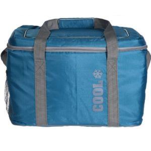 OEM Cooler Bag Ισοθερμική Τσάντα Ψυγείο 24L 37x26x25cm Μπλε 1τμχ
