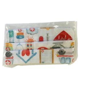ΟΕΜ Μάσκα Παιδική Βαμβακερή 100% Με Σχέδιο Ιατρικά Είδη 1 Τμχ