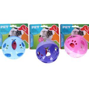 OEM Παιχνίδι Γάτας Μπάλα Κυλινδρική - Κουδουνίστρα 10cm