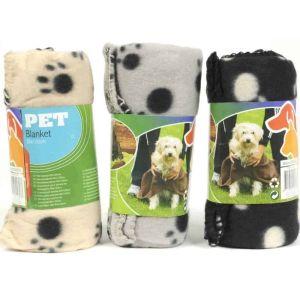 OEM Pet Blanket Κουβέρτα Για Κατοικίδιο Σε 3 Χρώματα