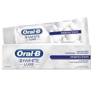 Oral-B 3D White Luxe Perfection Λευκαντική Οδοντόκρεμα Απαλή Με Το Σμάλτο 75ml