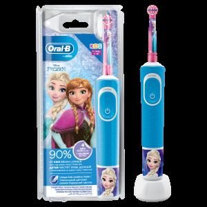 Oral-B Kids Ηλεκτρική Οδοντόβουρτσα Frozen για Παιδιά 3+ Ετών