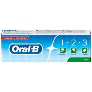 Oral-B 1-2-3 Οδοντόκρεμα Κατά Της Τερηδόνας 75ml