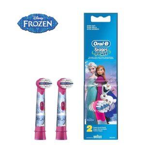 Oral-B Stage Power Frozen Ανταλλακτικές Κεφαλές Ηλεκτρικής Οδοντόβουρτσας 2 Τμχ