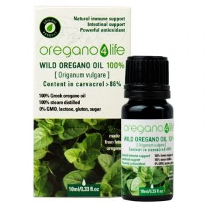 Oregano 4 Life Wild Oil Αιθέριο Έλαιο Ρίγανης 100% 10ml