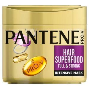 Pantene Pro-V Superfood Full & Strong Intensive Mask Μάσκα για Λεπτά & Αδύναμα Μαλλιά 300ml