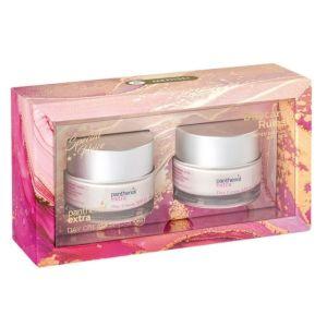 Medisei Πακέτο Promo Set Day Care Rules Limited Edition Panthenol Extra Day Cream SPF15 Σετ Κρέμα Ενυδάτωσης, Σύσφιξης & Λάμψης 2x50ml