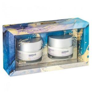 Medisei Πακέτο Promo Set Limited Edition Panthenol Extra Skincare Addict Σετ Αντιρυτιδική & Ενυδατική Κρέμα Προσώπου & Ματιών 2x50 ml